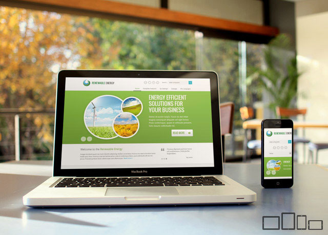 JM Renewable Energy - Green & Eco Business Template