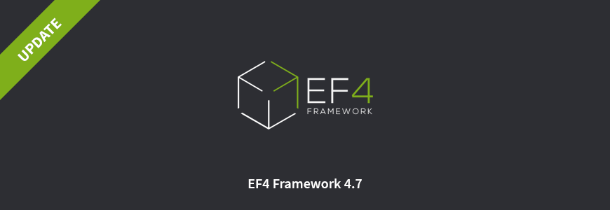 EF4 framework has been updated to 4.7 version. See what changed.