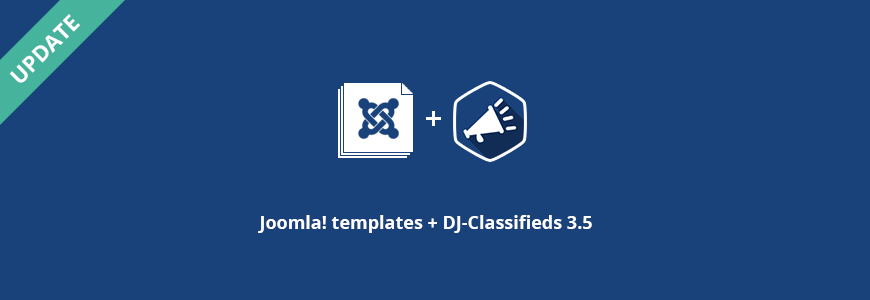 Joomla classifieds templates updated to DJ-Classifieds 3.5