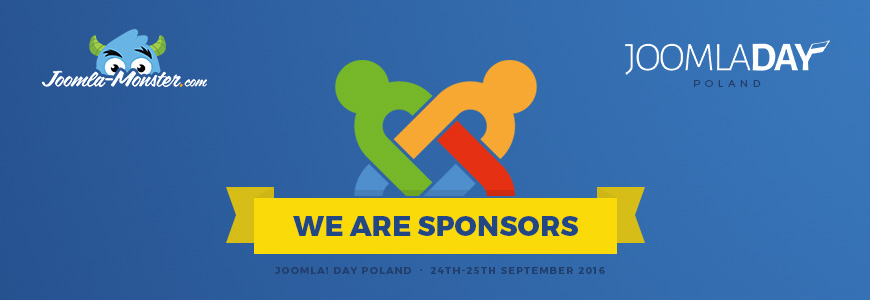 We are sponsors of JoomlaDay Poland 2016.