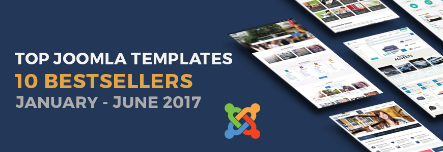 top 10 best selling Joomla templates 2017