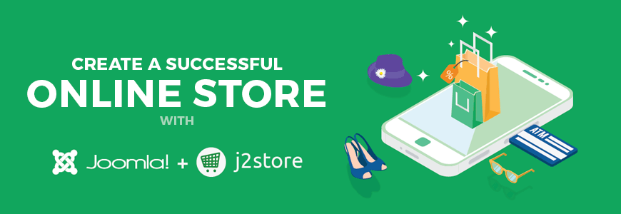 Create an e-commerce website with Joomla to sell your products online.
