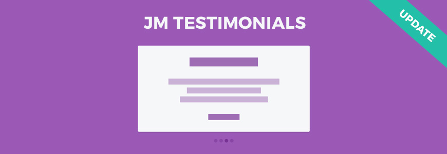 Testimonials FREE Joomla module is updated