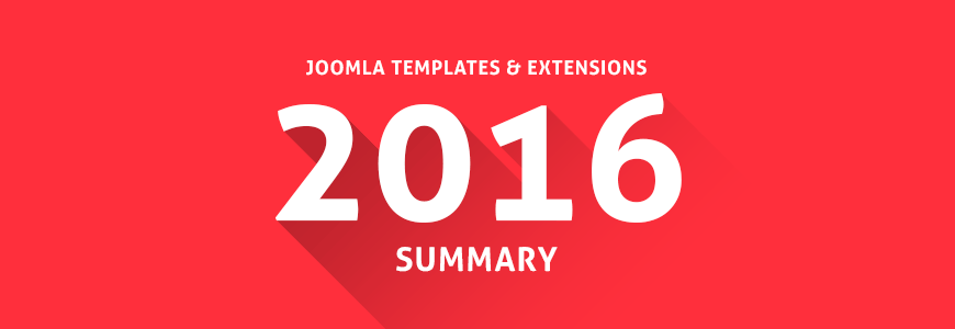 Joomla Templates 2016 Summary