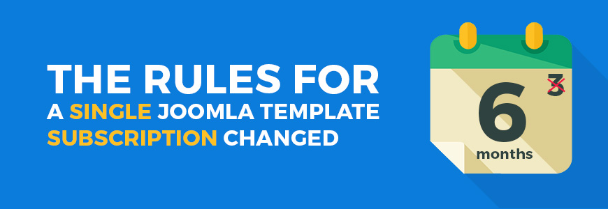 subscription for Joomla template