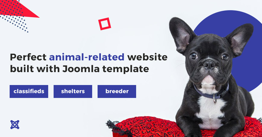 animal websites templates for Joomla
