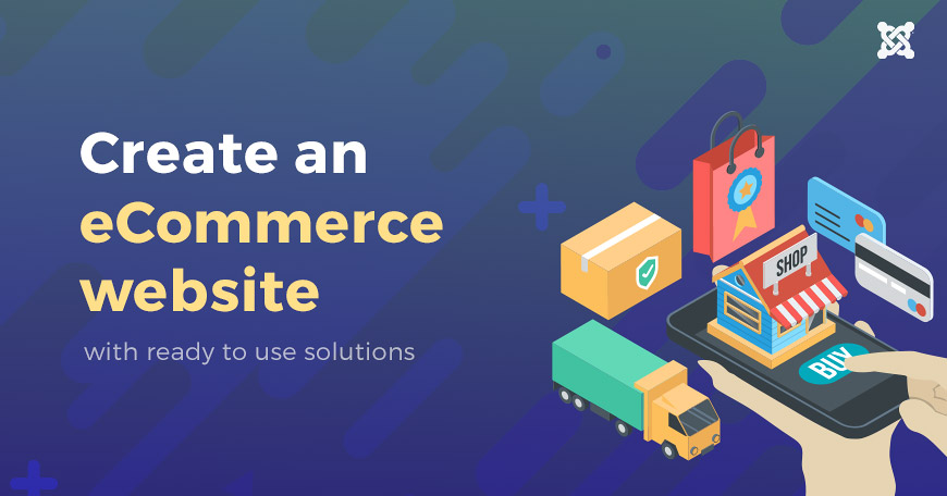 Best eCommerce website templates and eCommerce software based on Joomla CMS