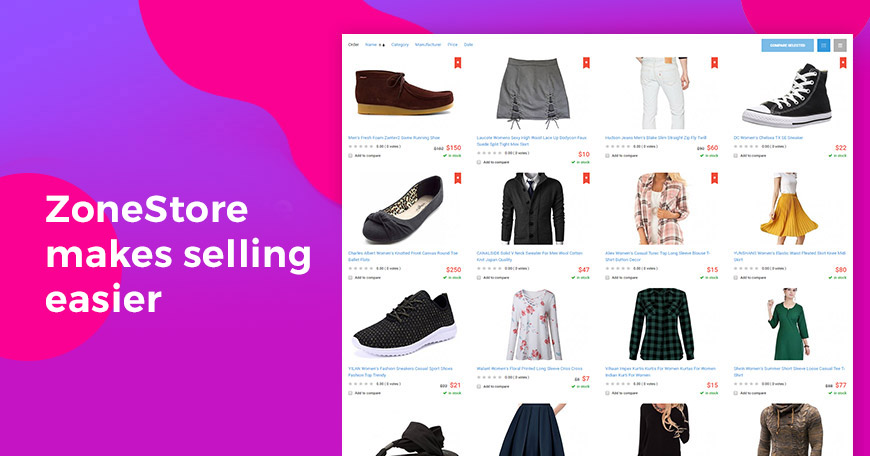 eCommerce Website Design Inspired by Amazon