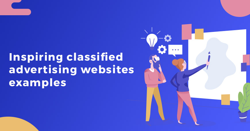 Classified advertising websites examples we customized for our customers