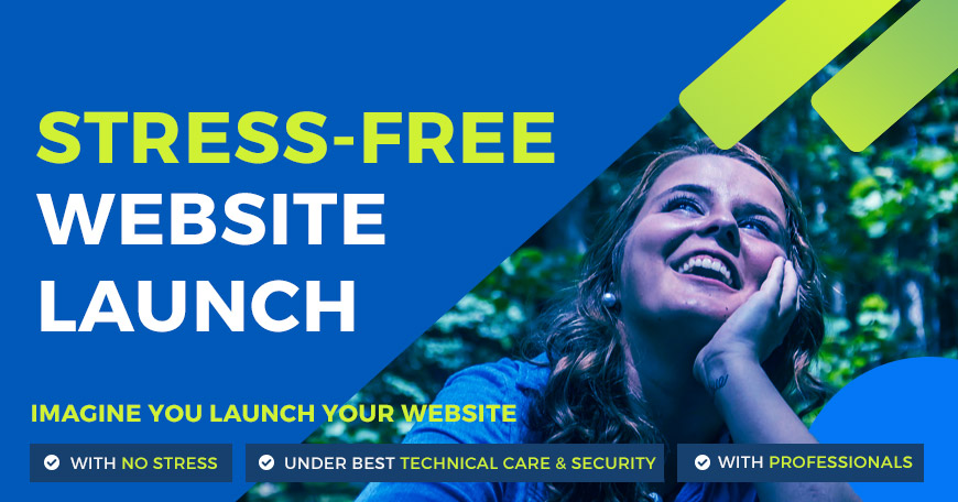 Create Website with Technical Care & No Stress