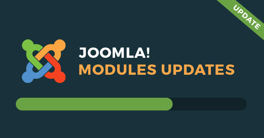 Joomla modules updates