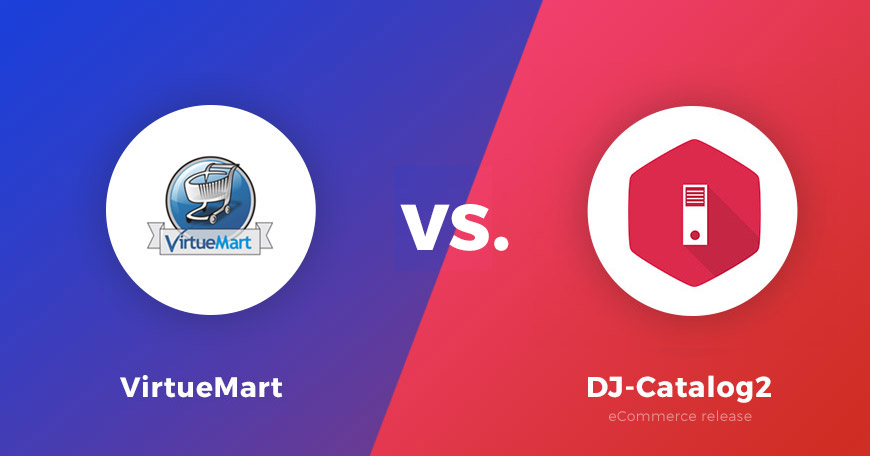 Virtuemart vs. DJ Catalog2 - comparison of eCommerce for Joomla, part 1
