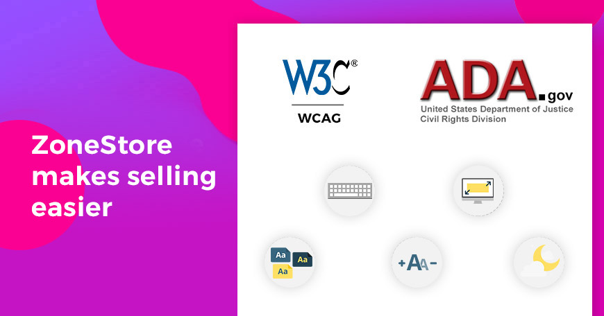 WCAG Compliant eCommerce Website Solution