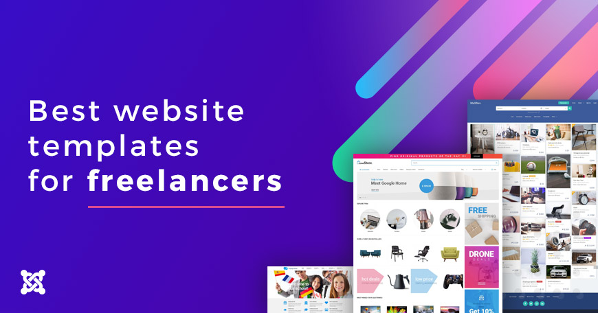 Best website templates for freelancers.