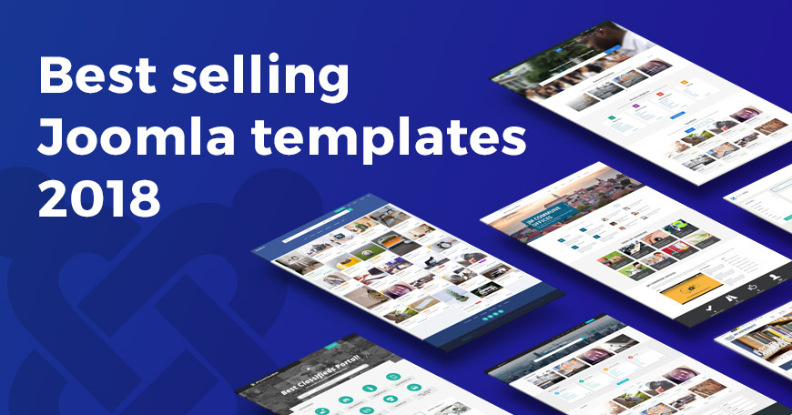 2018 best selling Joomla templates on Joomla-Monster