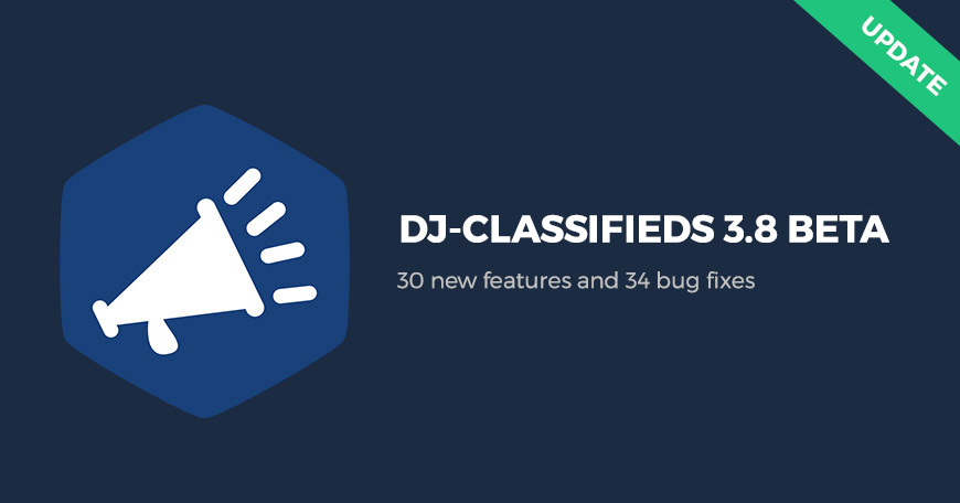 DJ-Classifieds 3.8 Beta