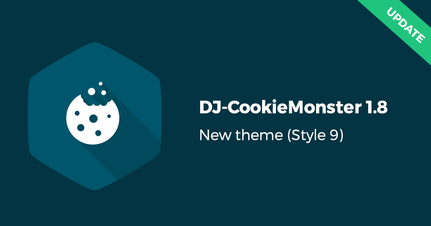 New theme for DJ-CookieMonster in the latest 1.8 update