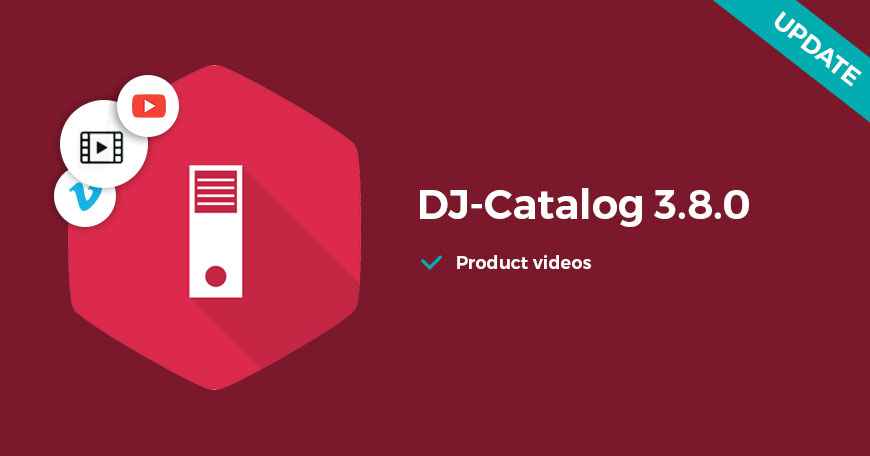 DJ-Catalog2 with a video support