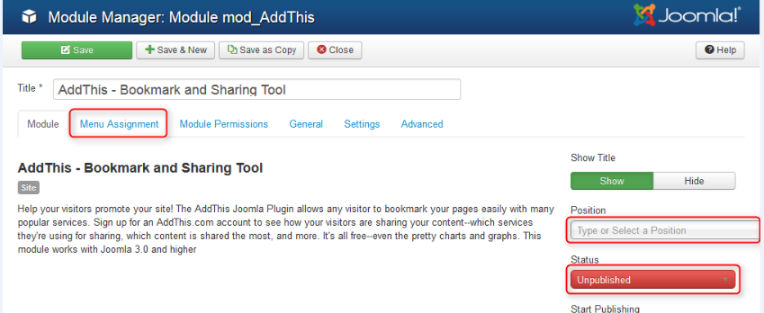 add this publish module