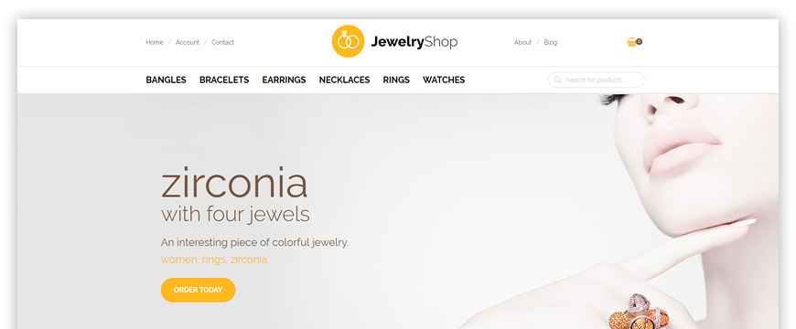 eCommerce Joomla jewelry template