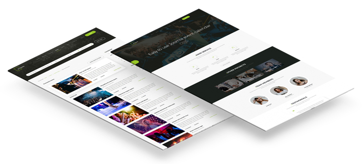 events agency joomla template bestseller