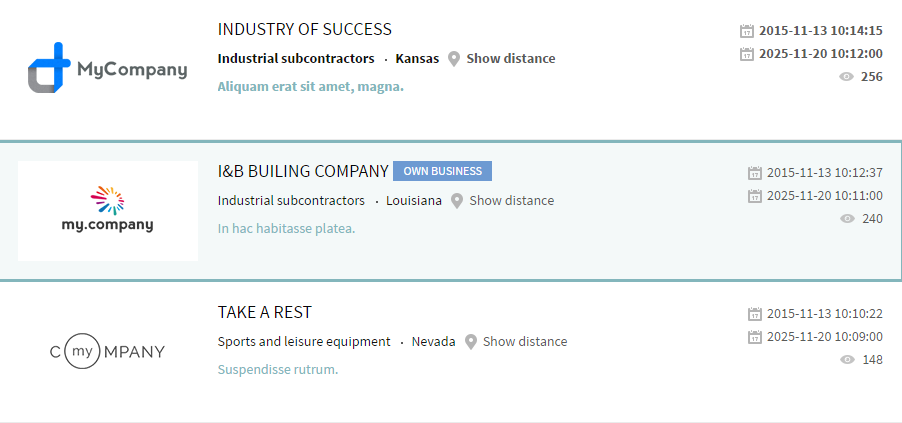 business directory how to build