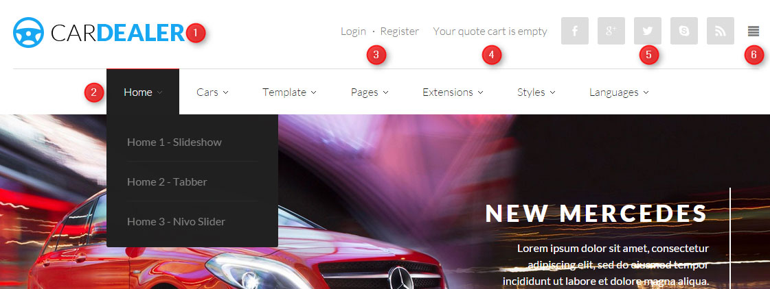 car dealer for Joomla