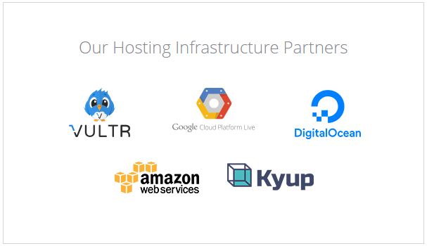 Cloudways Infrastructure Providers