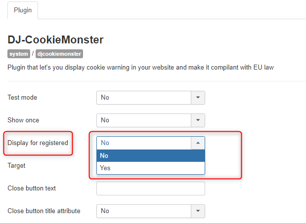 djcookiemonster display for registered