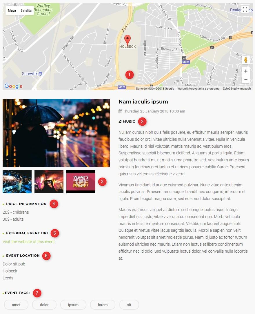 Joomla Templates For Event Management Website