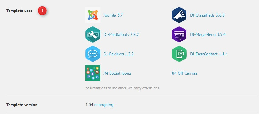 Joomla extensions bundle