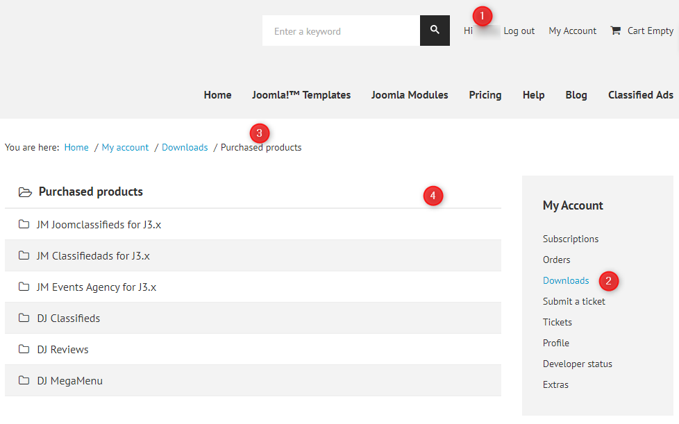 Joomla extensions download
