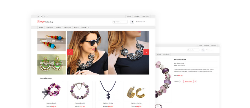 Free Joomla template for J2Store