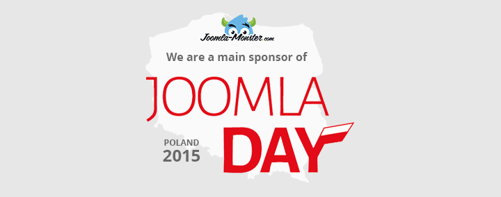 Joomla-Monster is the main sponsor of the Joomla Day Poland 2015!