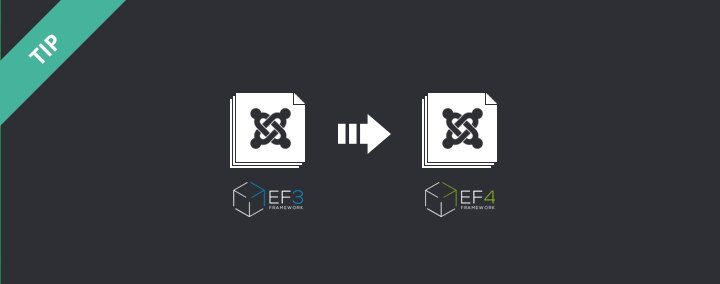Best way to update template from EF3 to EF4