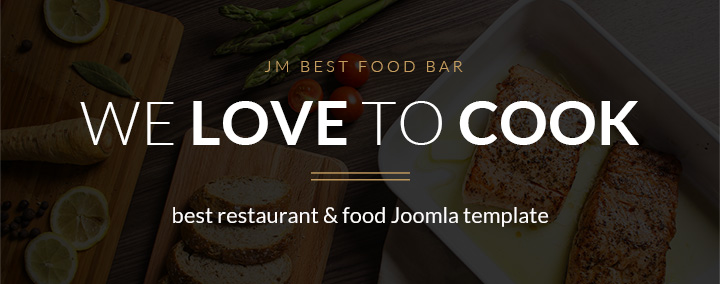 Get this template to build successful restaurant site.