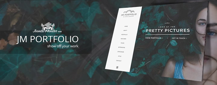 Artists! Show off your work by using this professional portfolio template!
