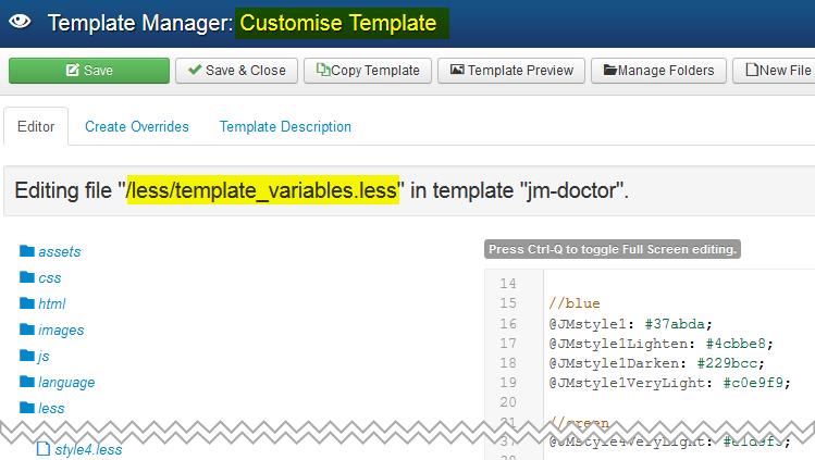 Modify JM Doctor color version in this simple way! - Joomla-Monster