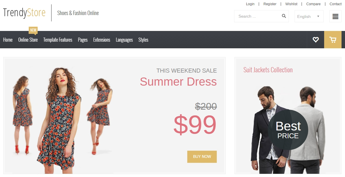 Looking For Perfect Ecommerce Template To Create Successful Online - How do i create an invoice trendy online clothing stores