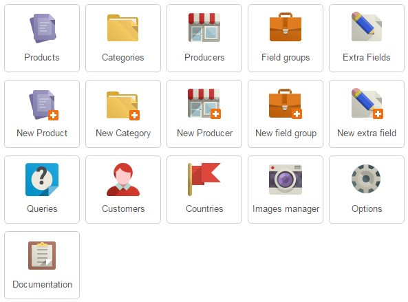 joomla product catalog extension