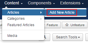 Articles Configuration