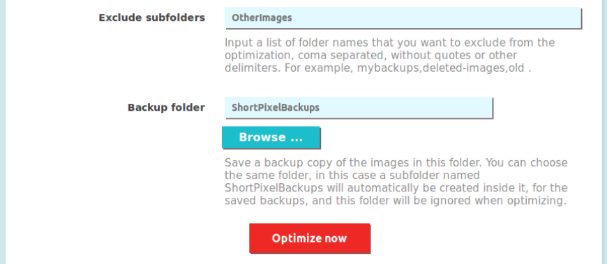 joomla backup exclude