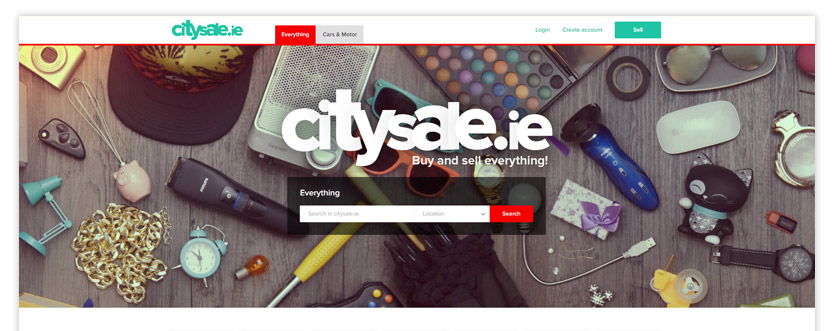 Buy and sell everything classified ads website template