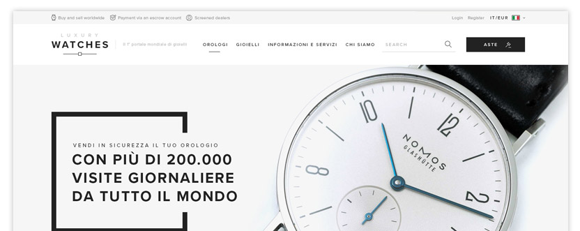 Luxury watches classifieds software