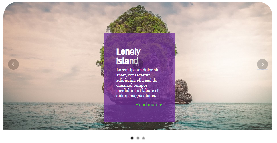 lonely island example slide