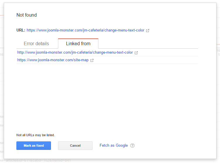 404 Error Message on Joomla - Joomla-Monster
