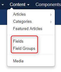 how to create custom field in Joomla