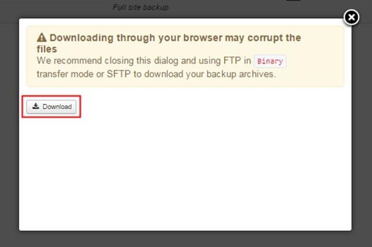 How to backup your Joomla site using AkeebaBackup?