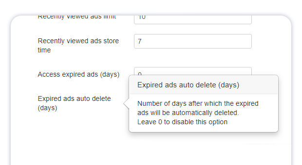 expired ads auto delete new param 1
