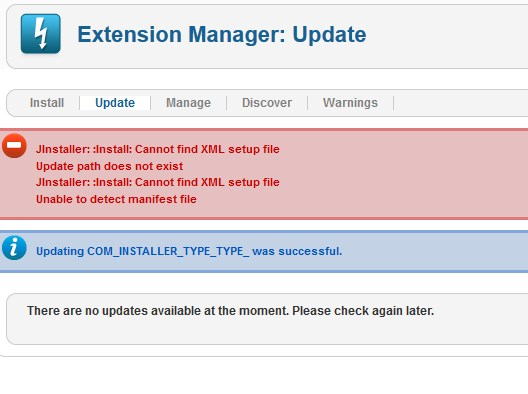 joomla17to25update-error